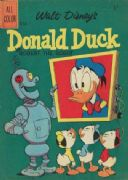 Vintage Children's magazine poster - Donald Duck in 'Robert the Robot'